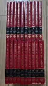 儿童大英百科全书 20册全套 1992年版 十六开 英文原版Children's Britannica Children Encyclopedia Childrens 全20卷
