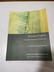 Discover English: Language Awareness for Teachers