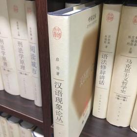 汉语现象论丛:中国文库