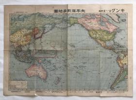 太平洋战争地图、南洋诸国明细地图