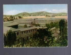 文革明信片;大寨【16张】1973.6.一版一印。版权页处盖大寨纪念戳