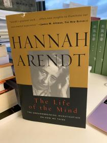 The Life of the Mind: The Groundbreaking Investigation on How We Think. One Volume Edition. One, Thinking; Two, Willing