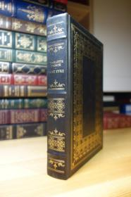 JANE EYRE 夏洛蒂·勃朗特简爱  Franklin Library 竹节书脊 三面刷金