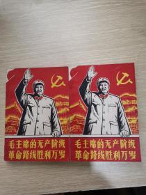 毛主席的无产阶级革命路线胜利万岁(上下)