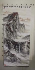 安徽美协理事(刘有成)60*137……1997年山水