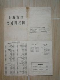 上海市区交通路线图