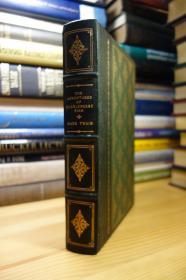 The Franklin Library 1979年版马克吐温的哈克贝利·费恩历险记 The Adventures of Huckleberry Finn 皮面精装,三面刷金,竹节书脊