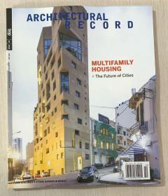 Architectural Record建筑辑要2020年10月美国版建筑设计英文杂志