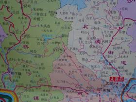 上塘城区、瓯北城区街道图 包含永嘉县行政区划表 覆膜撕不烂