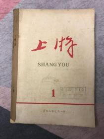 1958年党刊系列:四川 上游 创刊号 期刊欣赏