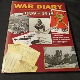 WAR DIARY  1939~1945  (参考译名:二战亲历者的日记 )