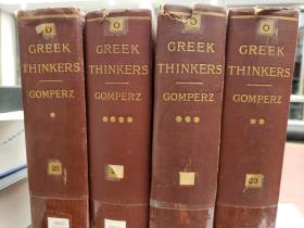 Greek Thinkers A History of Ancient Philosophy
