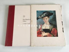 英文原版大16开硬精装有函套 the world of Durer  C.1471-1528  丢勒的世界