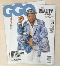 美国版 GQ绅士2020年10月 时尚潮流男士服装英文杂志