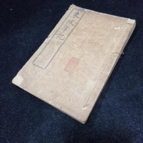 《东坡笔记》上下两卷,线装一册全,苏东坡著,(明)毛凤苞 毛晋]辑,上海有正书局铅印本发行,这些文章,历来被推为笔记文学中的上乘之作。他的随笔小品,为文如行云流水,字里行间,饶有情趣。