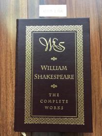 近全新!【现货在美国家中、2周左右到国内、全国包顺丰】William Shakespeare: The Complete Works,《莎士比亚戏剧与诗歌》,莎士比亚(著),美国 Barnes & Noble Books 1994年出版(请见实物拍摄照片第5张版权页),精装,厚册(1263页),三面刷金,珍贵外国文学参考资料!