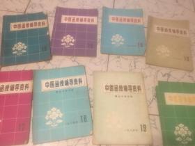 中医函授辅导资料【1984年12、13、14、15、16、17、18、19(八本合售)