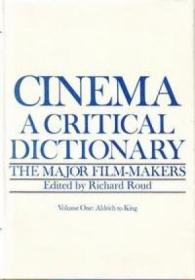 Cinema A Critical Dictionary
