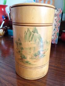茶叶罐茶叶桶(木)