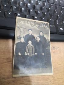 60年代 老照片  全家合影  品自定  编号 分1号册