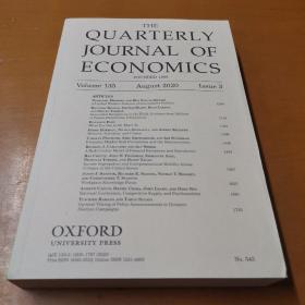 THE  QUARTERLY  JOURNAL  OF  ECONOMICS 2020牛津大学外文原版经济学季刊