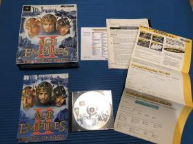游戏光盘 帝国时代2 一张盘
