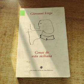 Giovanni Verga Cenas de vida siciliana Letras itealianas