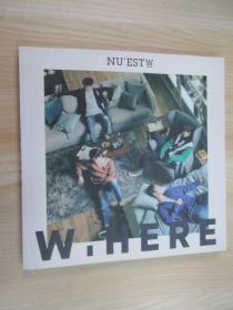 韩语原版CD NU'EST W W,HERE  内附光盘