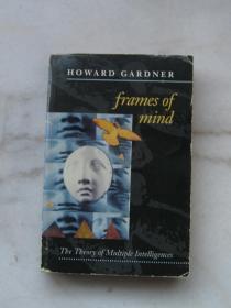 英文霍华德加德纳智能的结构Frames of Mind Theory of Multiple Intelligences经典教育心理学 第二版Howard Gardner