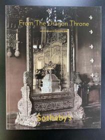 苏富比2000年10月8日香港 From The Dragon Throne