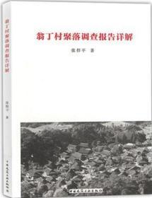 翁丁村聚落调查报告详解 9787112234622 张捍平 中国建筑工业出版社 蓝图建筑书店