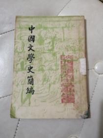 中國文學史簡編