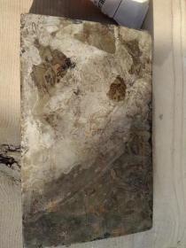 晚清民国豆瓣石老砚台、石质细腻、造型精美、做工大气
