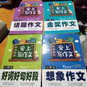 小学生好词·好句·好段+金奖作文 +想象作文 +话题作文 4本合售