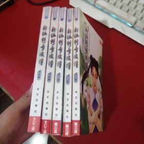 新仙剑奇侠传 全5册【都是1版一印】第1册后页一点水印 不明显