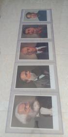 世界五大伟人画像---70年代----【马恩列斯毛画像】----4开-----虒人荣誉珍藏