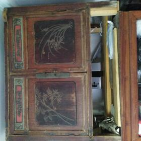 实木柜子(运费买家自负)