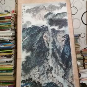 蔡华义山水国画(巫山神女)
