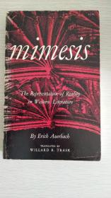 Mimesis:  the Representation of Reality in Western Literature  【英文原版,品相佳】