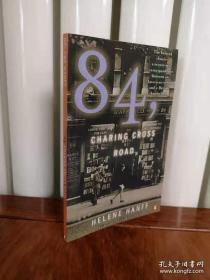 84, Charing Cross Road,查令街84号英文版,无笔记无划线,包邮。