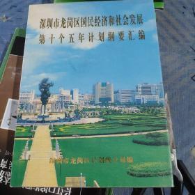 深圳市龙岗区国民经济和社会发展第十个五年计划纲要汇编