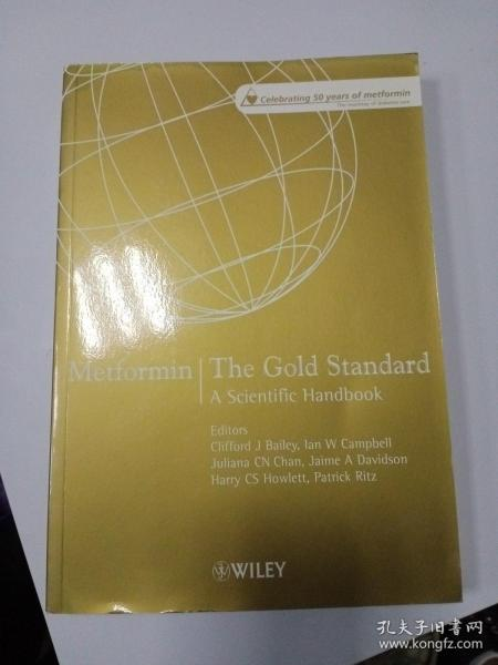Metfofmin The Gold Stan dard  A SCientific Handbook