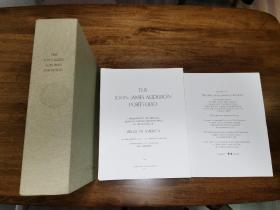 The John James Audubon Portfolio奥杜彭<美国鸟类> 限量 单页散装巨册 收藏佳品