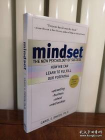 Mindset:The New Psychology of Success,看见成长的自己英文版,封面有勒痕,无笔记无划线,包邮~