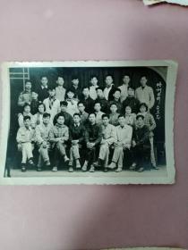 老照片(1960年青年培训老照片)