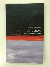 Derrida: A Very Short Introduction 牛津通识读本:德里达