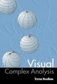 预订2周到货 visual Complex Analysis  英文原版  复分析·可视化方法