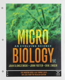 预订2周到货  Microbiology: An Evolving Science   英文原版 微生物学