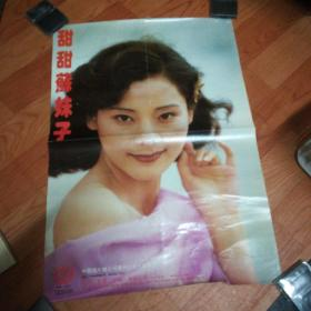 宣传画:甜甜苏妹子(录音录像带宣传画)