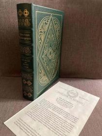 Tales from Shakespeare(兰姆姐弟《莎士比亚戏剧故事集》,大师Arthur Rackham彩色、黑白插图,全真皮精装,大开本,1996年Easton典藏版)